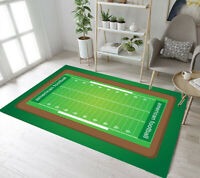 American Football Field Living Room Mat Bedroom Carpet Floor Decor Area Rugs