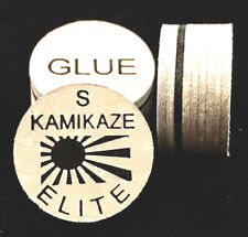 NEW....Kamikaze ELITE Layered Cue Tips  14 MM  (SOFT) (3 Tips)  Fast Shipping.