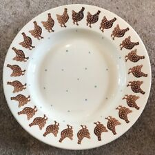 "Emma Bridgewater Speckled Hen 10 1/2"" Plate Discontinued *Rare* 2"