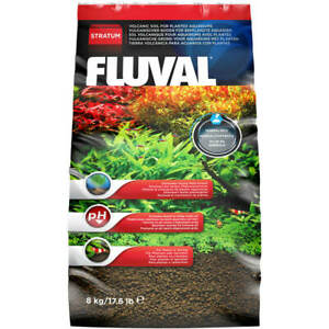Fluval Stratum Plant and Shrimp Substrate 8kg Aquarium Plant Fertiliser Soil