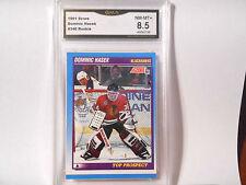 Dominik Hasek GRADED ROOKIE!!! 1991/92 Score #346 Blackhawks HOFer!! 8.5-1