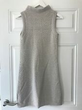 MAX MARA Light Grey Sleeveless Knitted Dress. Very good condition. Fits UK 8/10