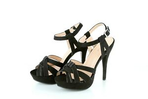Women's Comfortable Suede Open Toe Fashion High Heels