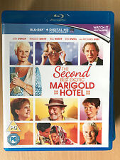 Second Best Exotic Marigold Hotel Blu-ray 2015 2 Comedy Judi Dench Maggie Smith