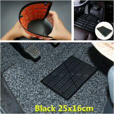 25x16cm Black Car Floor Carpet Pad Heel Foot Mat Pedal Patch Cover Waterproof
