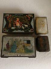 Vintage / Antique Biscuit - Tea Tins