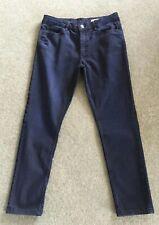 M&S Skinny Dark Blue Denim Jeans Size 12 Short