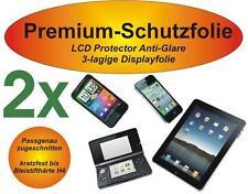 2x Premium-Pellicola protettiva antiglare Samsung Galaxy s4 MINI OPACA 3-Veli Anti Reflex
