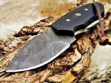Damascus Knife  Hunting/Bowie/Skinner Knife Damast-Jagdmesser 4219#2