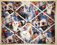 Kitten Kitty Cat French Memory Board Animal French Memo Board Pet Bulletin Board