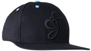 NWT Sean John Men's Core Script Logo Hat Black
