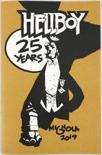 Mike Mignola Hellboy 25 Years Sketchbook! Signed & Numbered! New!