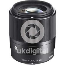 SIGMA 30 mm F1.4 DC DN Contemporary Lens-SONY E