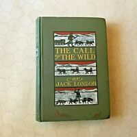 Jack London CALL OF THE WILD true 1st Edition 1903 rare First Print w/box ed HB!