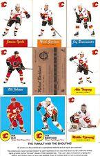2012-13 OPC O-Pee-Chee Retro Calgary Flames Master Team Set (18)