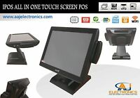 IPOS All In One Touch Screen System 4GB RAM/64GB SSD/WiFI Restaurant/ Retail POS