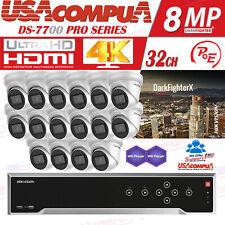 HIKVISION 4K SECURITY SYSTEM 32CH 8 MEGAPIXEL H.265+ HDD PURPLE OPTIONAL