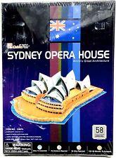 CubicFun C067H Sydney Opera House 3D Puzzle 58 Pieces New Sealed