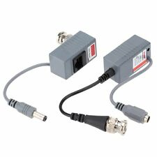CCTV Camera Video Balun Transceiver BNC UTP RJ45 Video and Power CAT5/5E/6 Cable