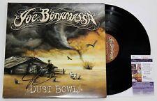 JOE BONAMASSA SIGNED DUST BOWL 2x LP VINYL RECORD GUITARIST AUTOGRAPHED +JSA COA