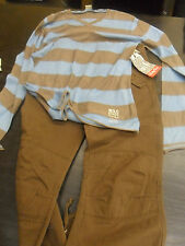 NEW BOYS KIDS DESIGNER OUTFIT IKKS TOP & SALTY DOG TROUSERS AGE 12/13 £100+ RRP
