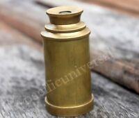 "Nautical Brass Telescope Vintage Navigational Pocket Marine Handmade Gift 6"""