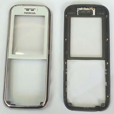 100% Genuine New Nokia 6233 Front cover fascia housing +screen lens panel- White