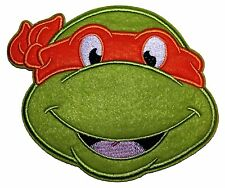 "Teenage Mutant Ninja Turtles Michelangelo Orange Mask Head Shot Large 5"" Patch"