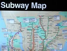 NYC Subway Map Display Size / ~ 5 Feet tall
