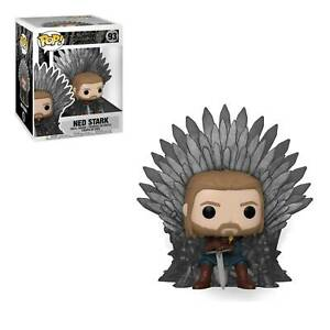Funko Pop! TELEVISION GAME OF THRONE - NED STARK ON THRONE IN STOCK HBO