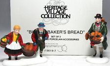 Buying Baker'S Bread #56197 Set of 2 Department 56 Alpine Village
