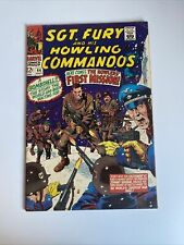 Sgt Fury and His Howling Commandos #44 Marvel Comic Book July 1967
