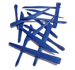 Major Brushes 14 X Assortito Plastica Clay/Plastilina Modellante Scultura Tools
