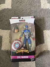 Marvel Legends Gamer verse Civil Warrior figure Shang Chi Mr. Hyde BAF In Hand