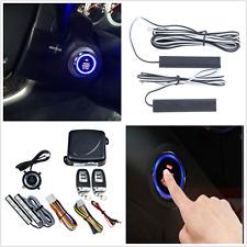 12V Keyless Entry Car Alarm System Push Button Start Rfid Lock Engine Starter(Fits: More than one vehicle)