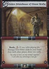 Hidden Storehouse of House Rafiq L5R CCG TF Twenty Festivals FOIL