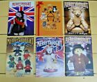 LOT OF 6 VINTAGE MERRYTHOUGHT TOY CATALOGUES