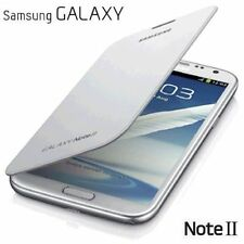 Brand New Genuine Samsung Galaxy Note 2 N7100 Flip Case Cover Marble White