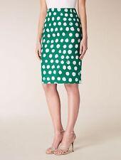 MAX MARA Studio Green Skirt, size 8 USA, 10 GB,38 D, 40 F,42 I  NEW ARRIVALS