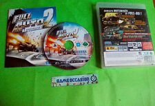 FULL AUTO 2 BATTLELINES / SONY PLAYSTATION 3 PS3 PAL COMPLETO