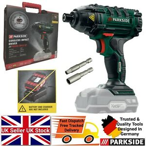 Parkside 20V Cordless Impact Driver - Bare Unit Battery & Charger NOT Included