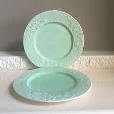 Villeroy & Boch Piemont Primavera Green Dinner Plates Lattice Fruit Rim