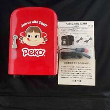Peko-chan Mini Fridge Refrigerator Red Cooler and Warmer AC and DC Switching
