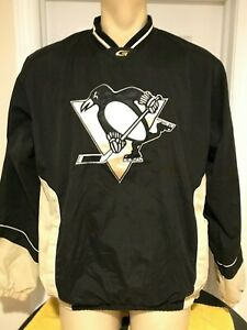 Pittsburgh Penguins Men's Pullover Windbreaker Jacket Coat Embroidered GIII M