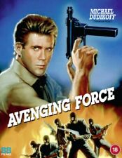 Avenging Force Blu Ray and Region B 88 Films With Slip Cover