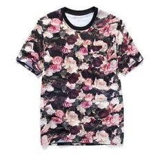 Geblümte T-Shirts für Damen