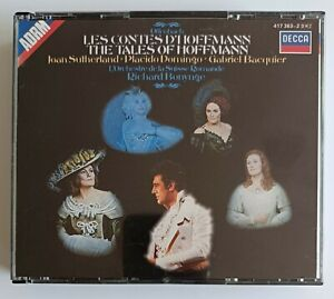 Offenbach - The Tales of Hoffman - Sutherland, Domingo, Bonynge 2 CD Box Set
