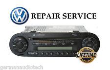 REPAIR SERVICE for VOLKSWAGEN NEW BEETLE CD PLAYER RADIO MONSOON MP3 1998 - 2011