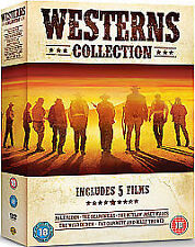 Western Collection - Pale Rider / The Searchers / Outlaw Josey Wales / The Wild Bunch / Pat Garrett / Billy the Kid (DVD, 2011, 5-Disc Set)