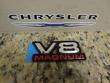 94-02 Dodge Dakota Ram V8 Magnum Decal Door Emblem Name Plate Mopar New Oem
